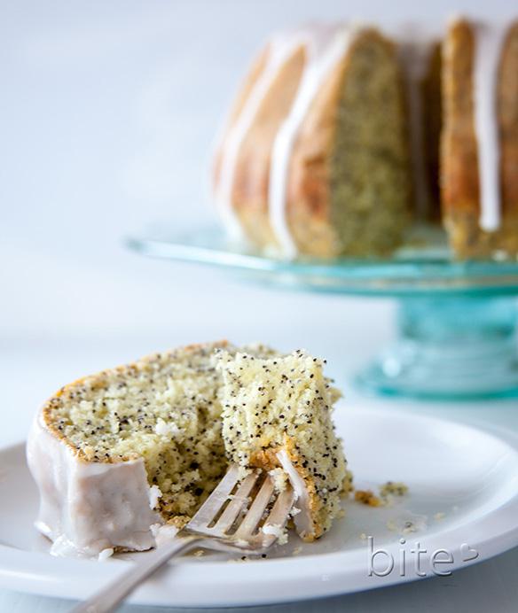 lemon poppy-seed bundt cake