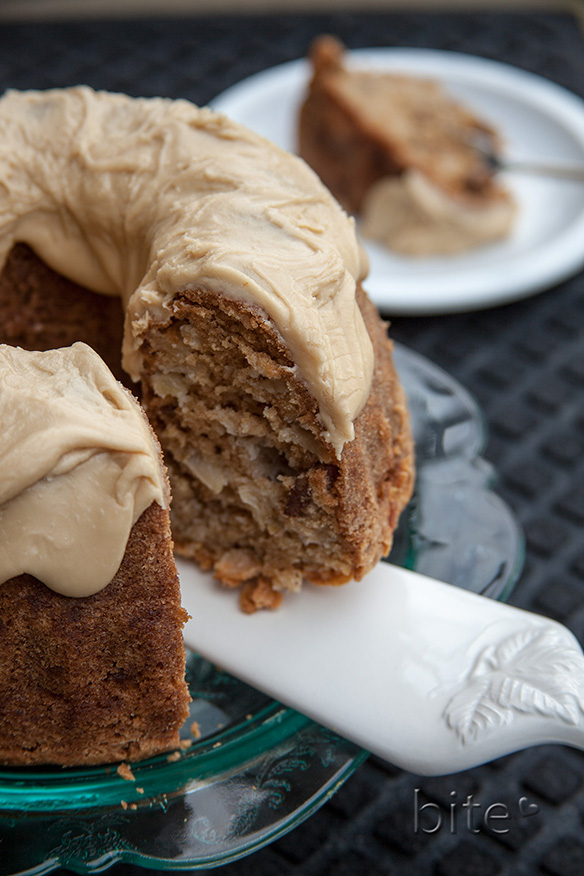 Chunky Apple and Walnut Cake 1